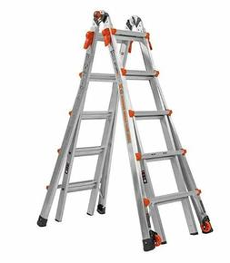 Little Giant Ladder Systems 22-Foot Multi-Position Aluminum