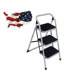 Multi Purpose 3 Step Lightweight Ladder Platform Foldable St