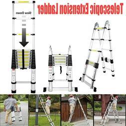 8.5FT 15.5FT 16.5FT Aluminum Multi-Purpose Telescopic Ladder