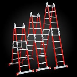 Kulbart Multipurpose Folding Ladder Fiber Glass 22 FT WF-406