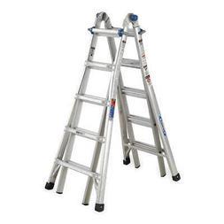 WERNER MT-22 Multipurpose Ladder,22 ft.,Aluminum