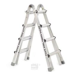 Multipurpose Ladder, 22 ft, IAA, Aluminum