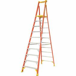 Werner PD6210 10 ft. Type IA Fiberglass Podium Ladder