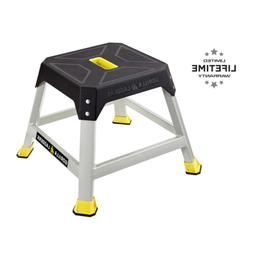 platform step stool steel 300 lb max
