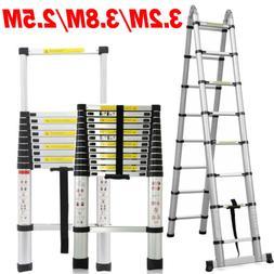Portable Aluminum Multi-Purpose Telescopic Ladder Extension