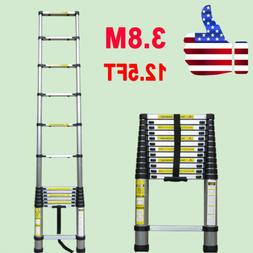 Portable & Foldable Telescoping Aluminum Telescopic Ladder 3