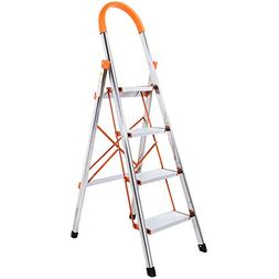 Lifewit 4-Step Stool Ladder Portable Folding Anti-Slip with