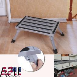 Portable Folding Aluminium Platform Safety Step Ladder Stool