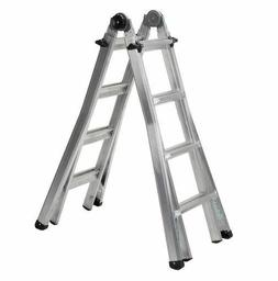 Cosco Reach 17 Ft Multi Position Ladder System Steel Heavy D