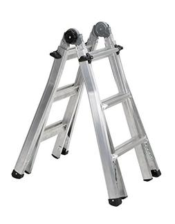 Cosco 14 ft. Reach Aluminum Telescoping Multi-Position Ladde