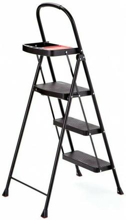 rms 3t 3 step steel step stool