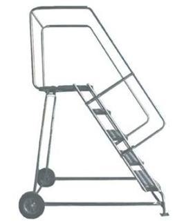 Ballymore/Garlin Enterprises Outdoor Rolling Aluminum Ladder