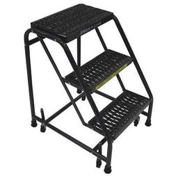 BALLYMORE Rolling Ladder,Steel,28-1/2 In.H, 318G, Gray