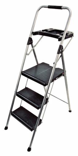 S323P-2 Werner  3-Step Gray Project Step Stool