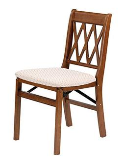 Stakmore Lattice Back Folding Chair Finish, Set of 2, Fruitw