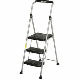 Werner SP323-6 3 Step Steel Podium Step Stool, 225 lb. Cap