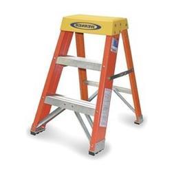 Step Stand, 24 In H, 300 lb., Fiberglass