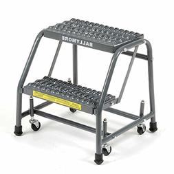 Ballymore 218G Steel Standard Rolling Ladder with Spring Loa