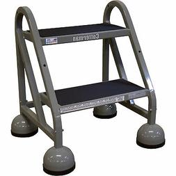 steel step ladder 18in max height c0840090