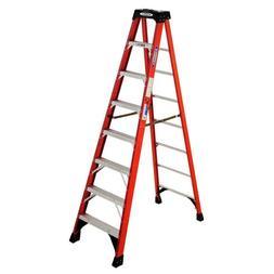 Step Ladder Fiberglass Non-Slip Steps 300 lb. Load Capacity