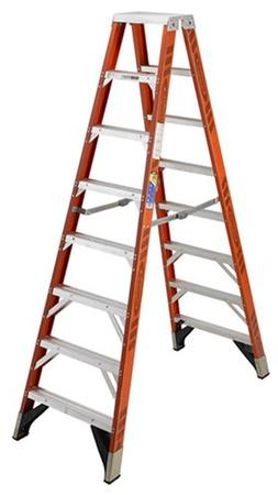 Fine 8 Orange Step Ladder Ladders Laddersguide Biz Alphanode Cool Chair Designs And Ideas Alphanodeonline