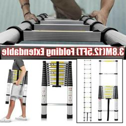 Telescoping Ladder Aluminum Telescopic Extension Tall Multi
