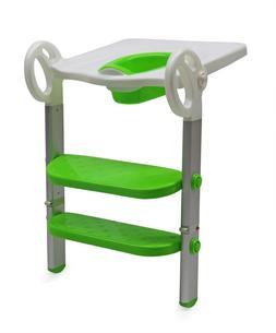 Toilet Step Trainer for Kids 2 Ladders AluminiumAlloy Stan
