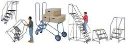 Ballymore Tough Aluminum Ladder with Spring Loaded Caster -