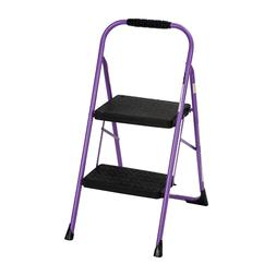 Cosco Two Step Big Step Folding Step Stool with Rubber Hand
