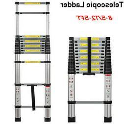 U New Multi Purpose Aluminum Telescopic Ladder Heavy Duty Fo