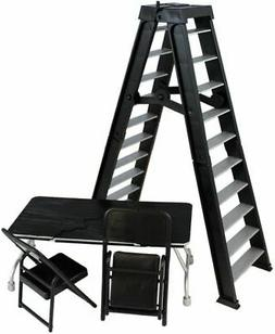 Ultimate Ladder & Table Playset  - Ringside Exclusive Figure