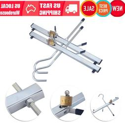 Universal 2pcs Ladder Roof Rack Extension Clamps Ladders Loc