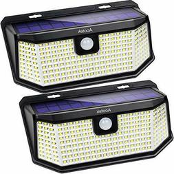 New Upgraded 48 LED Solar Lights with Wide Angle Illuminatio