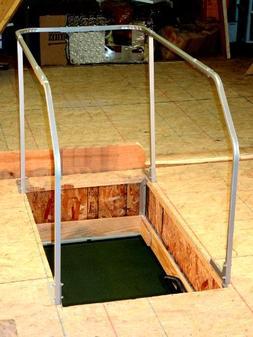 Versa Lift Attic Ladder Safety Railing VR-60