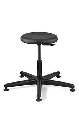Bevco Versa, Desk Height Polyurethane Stool, Black Nylon Bas
