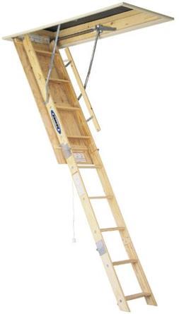 Werner W2508 8 ft. Wood Attic Ladder