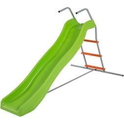 Best Choice Products 6' Wavy Slide Kids Playground Set