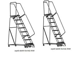 Ballymore Ladders Wider Rolling Ladders - 24 Inch Wide Steps