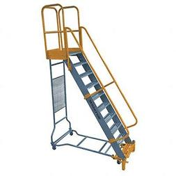 Cotterman - WMX12R42A3P3 - 12-Step Rolling Ladder, Serrated