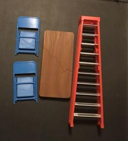 WWE Ultimate TLC Table Ladder & Chairs Playset For Figure Lo
