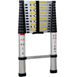 Xaestival EN131 12.5ft Telescoping Ladder Aluminum Telescopi