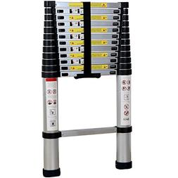 Xaestival 12.5FT EN131 Telescoping Ladder Aluminum Telescopi