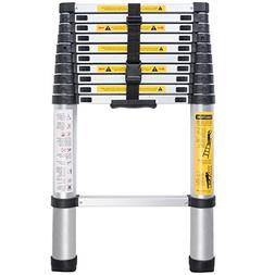 Xaestival EN131 10.5ft Telescoping Ladder Aluminum Telescopi